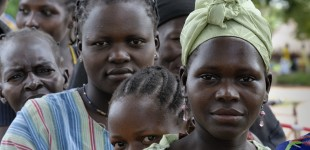 Southern Sudan: voting excitement